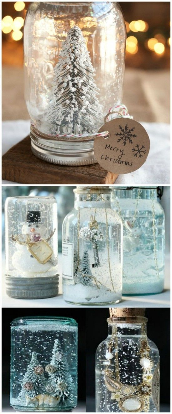 Awesome do it yourself christmas decorations estate agents colchester ce2a61cdd405731be7efd82d9245d427 personalized snow globe 12 magnificent mason jar christmas decorations you can make yourself solutioingenieria Gallery